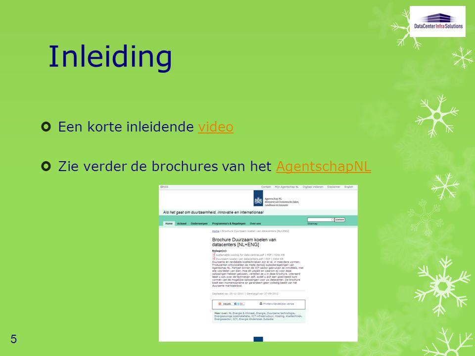 Inleiding  Een korte inleidende videovideo  Zie verder de brochures van het AgentschapNLAgentschapNL 5
