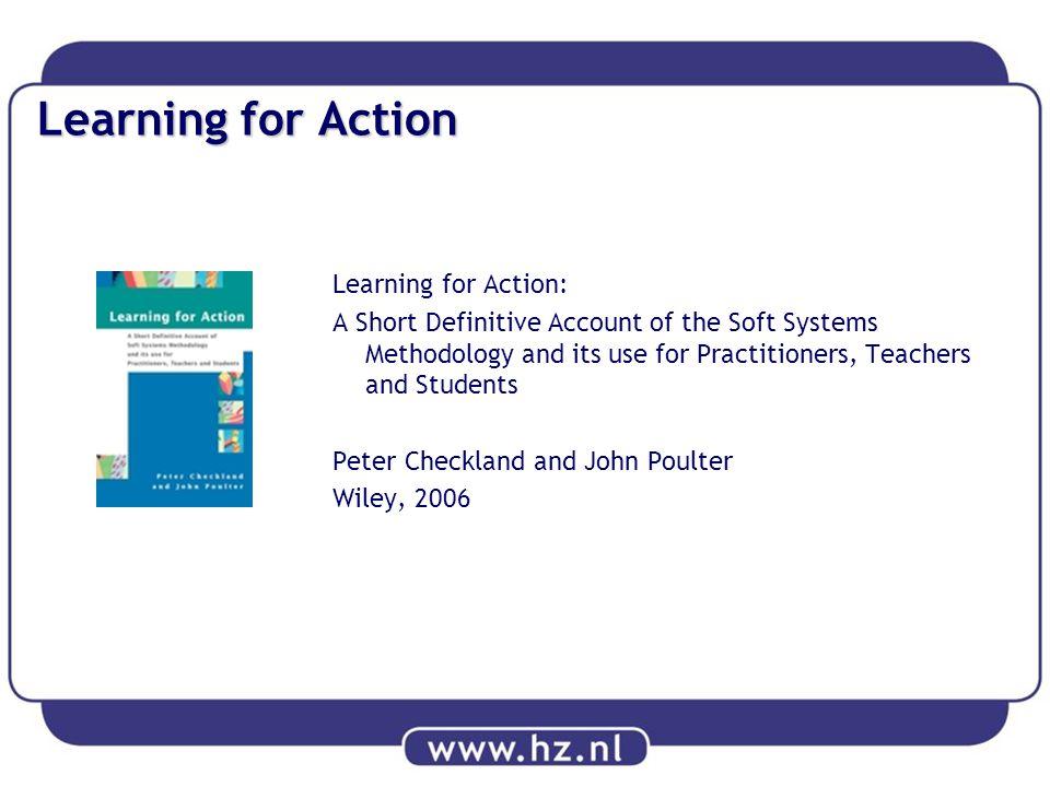 Achtergrond De Soft Systems Methodology (SSM) is een zeer praktische aanpak om alledaagse, problematische situaties te verbeteren.