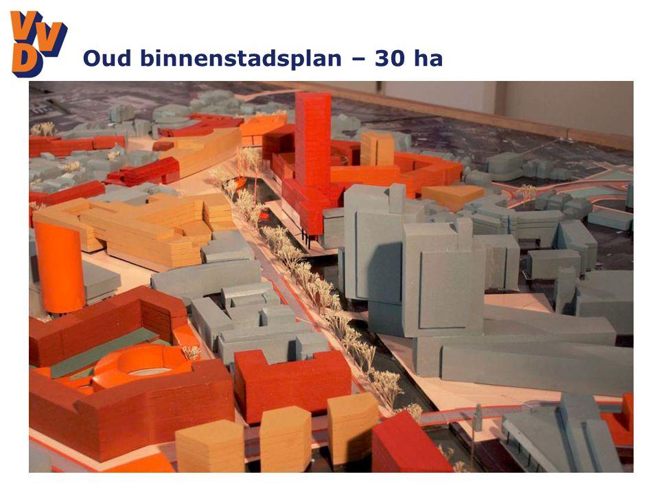 Oud binnenstadsplan – 30 ha