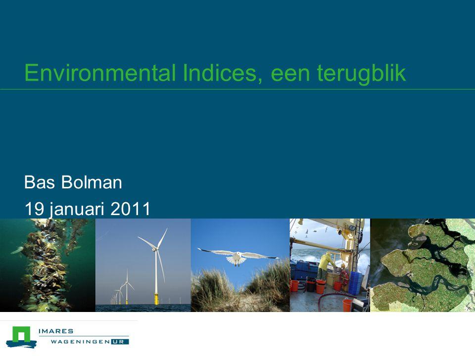 Inhoud 1.Environmental Ship Index (Tiedo Vellinga) 2.