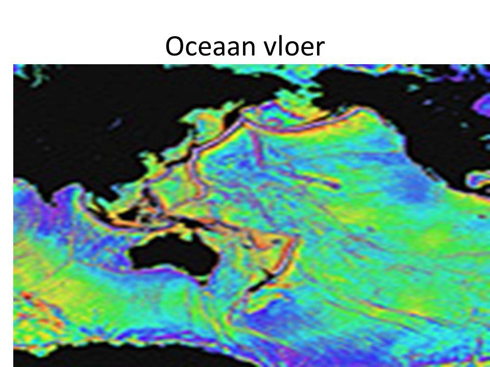 Oceaan vloer
