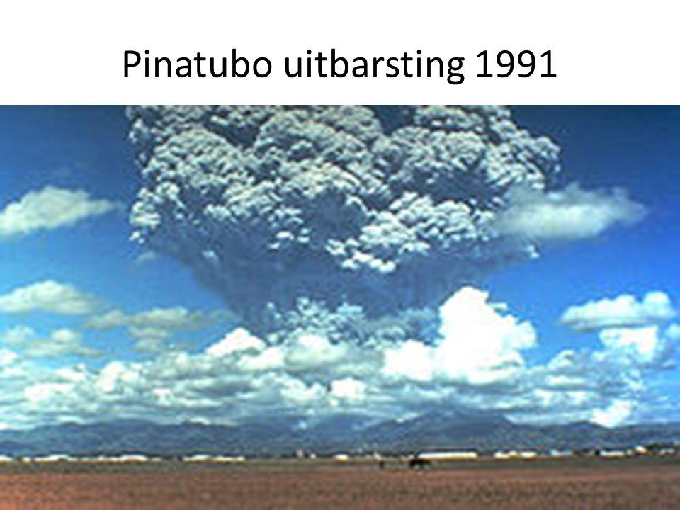 Pinatubo uitbarsting 1991