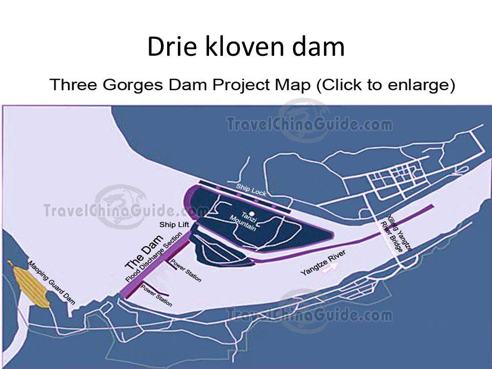 Drie kloven dam