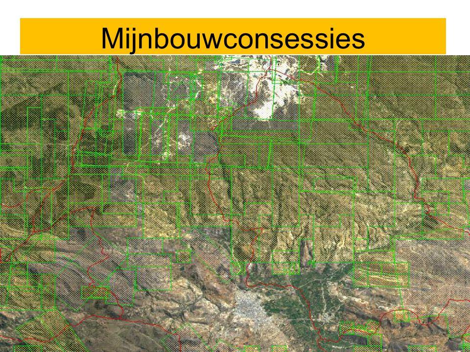 MIJNBOUWCONCESSIES Mijnbouwconsessies