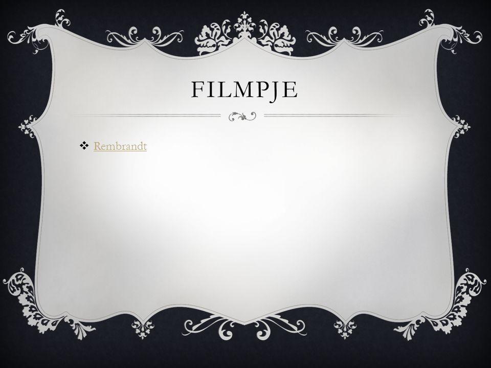 FILMPJE  Rembrandt Rembrandt