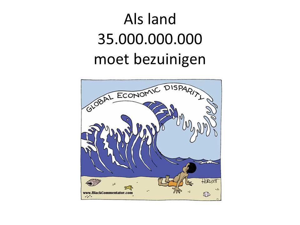 Als land 35.000.000.000 moet bezuinigen