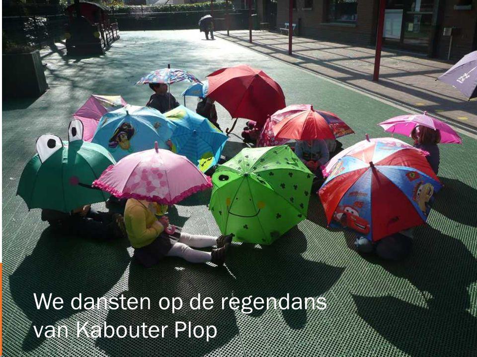 We dansten op de regendans van Kabouter Plop