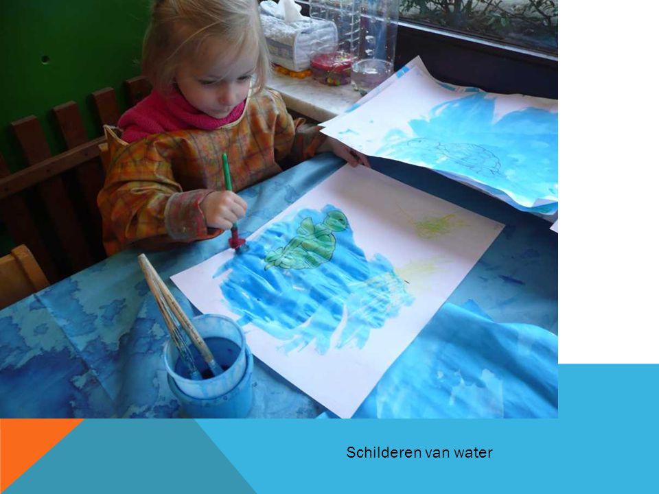 Schilderen van water