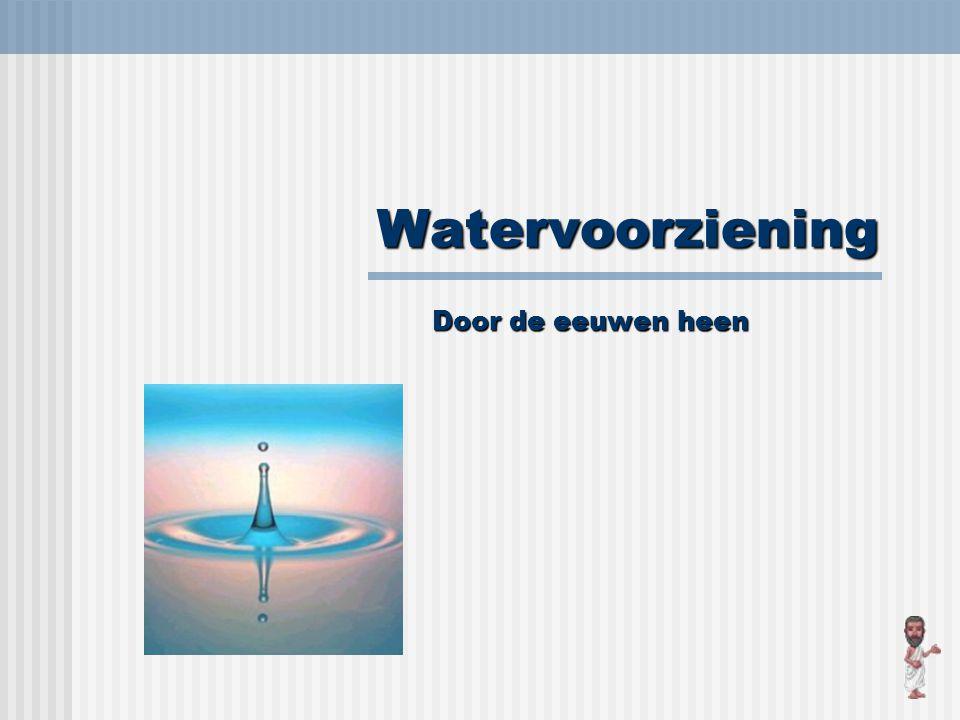 Vanaf 1650 Om de vervuiling tegen te gaan worden de waterputten afgedekt.