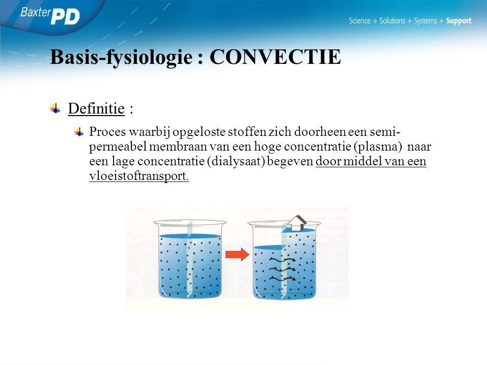- Plaatsing : AA/LA - Fixatie - Proefspoeling - Verbandwisseling - Na 7d – 14d : PD (excl.