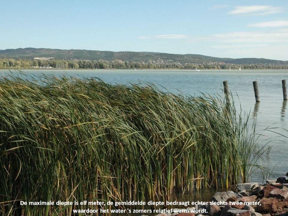 Het Balatonmeer is het grootste meer (592 km²) van Midden-Europa.