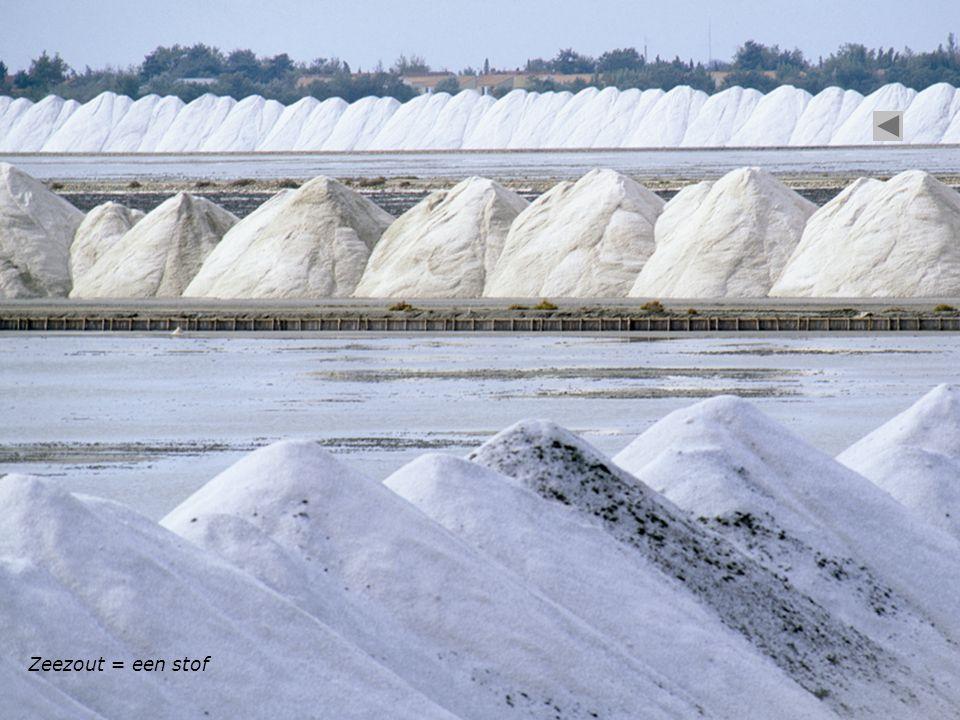 Zeezout = een stof