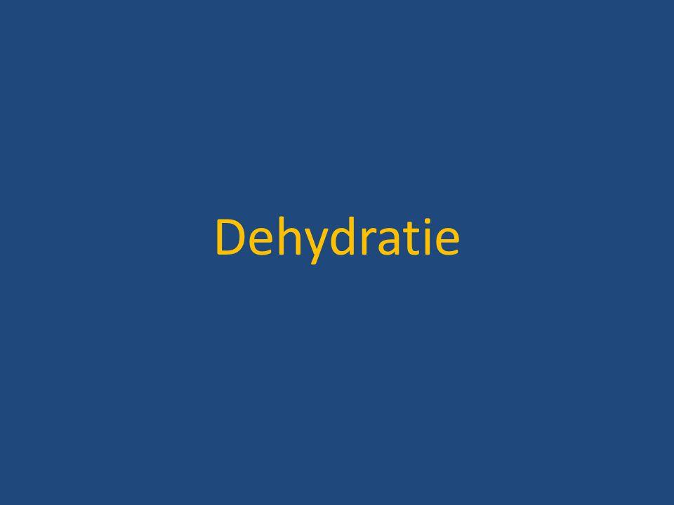 Dehydratie