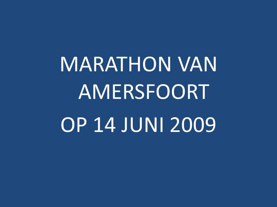 MARATHON VAN AMERSFOORT OP 14 JUNI 2009