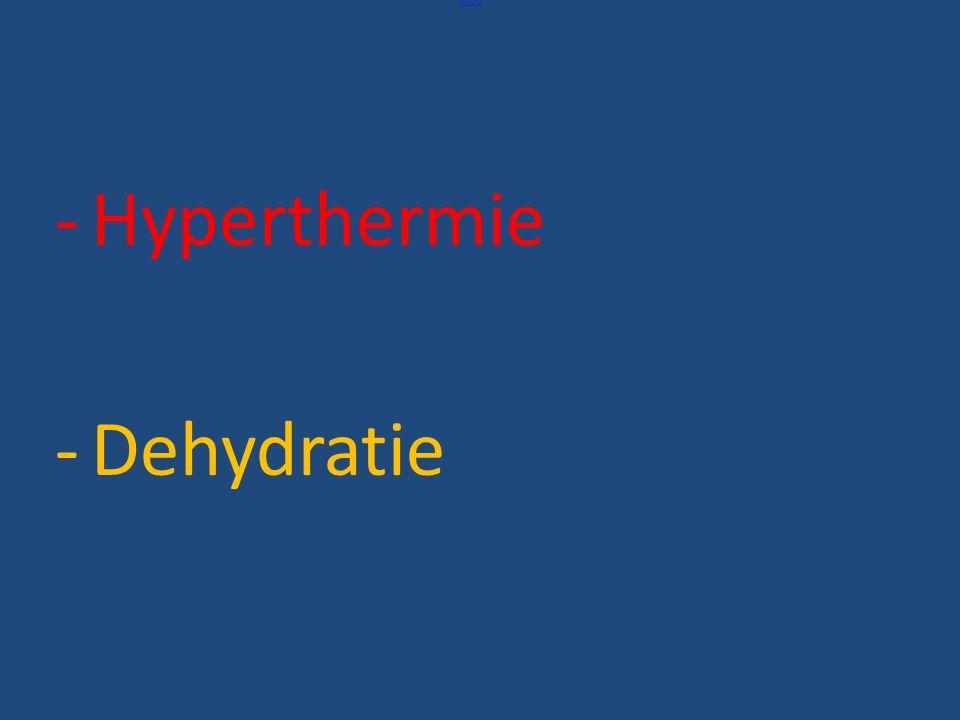 Behandeling van dehydratie Belangrijk is het om te weten wat je natrium serumconcentratie is Rehydratie Het drinken van vocht en koolhydraten vermindert de vermoeidheid.
