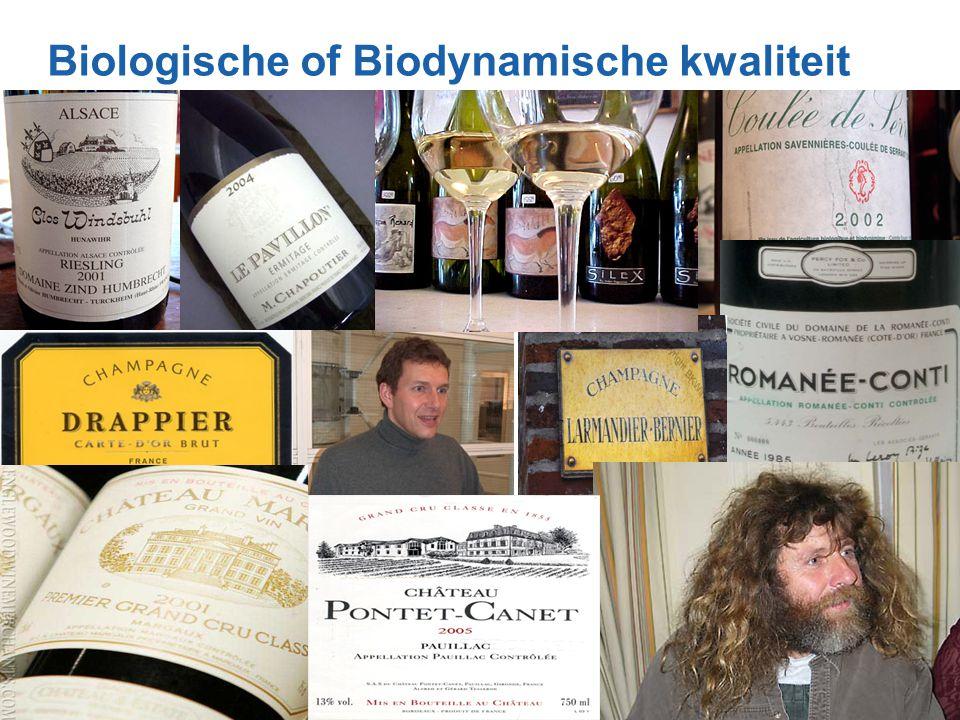 Biologische of Biodynamische kwaliteit 7