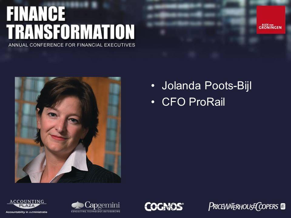Jolanda Poots-Bijl CFO ProRail