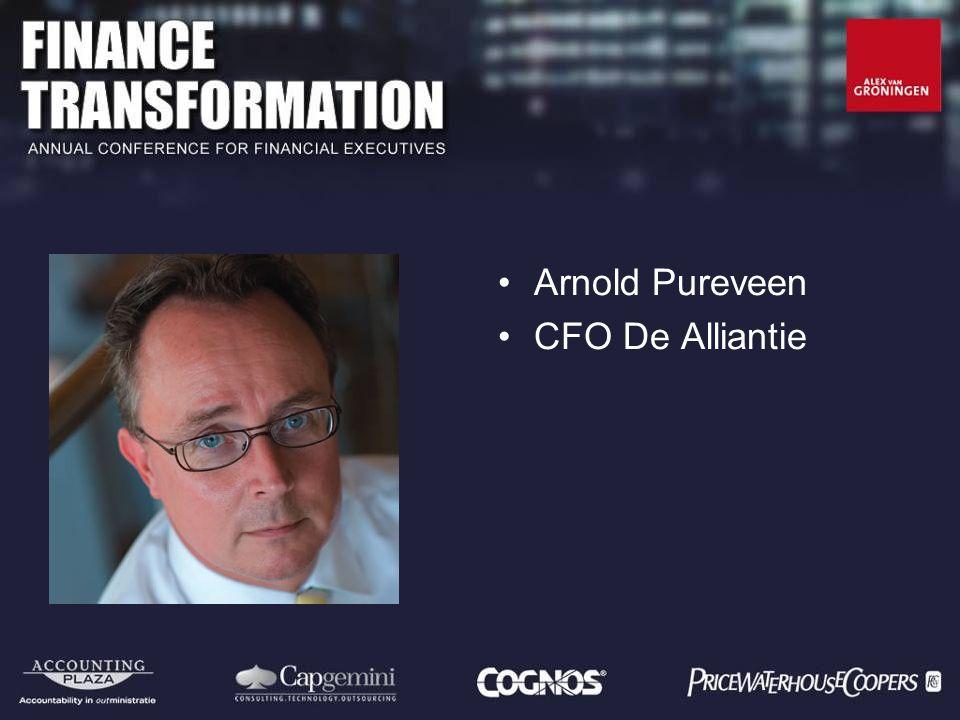 Arnold Pureveen CFO De Alliantie