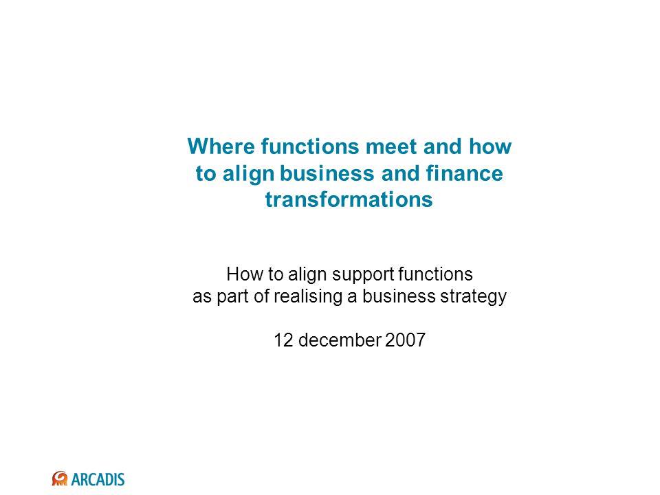 De CFO zou zich meer met business performance management en business development & support moeten bezoghouden
