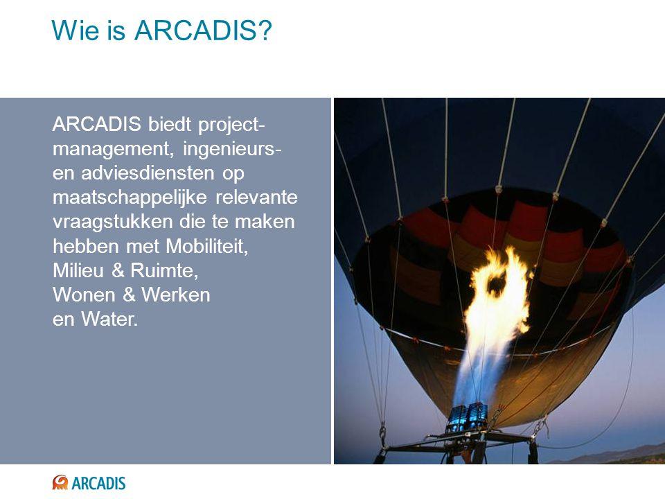 Wie is ARCADIS.
