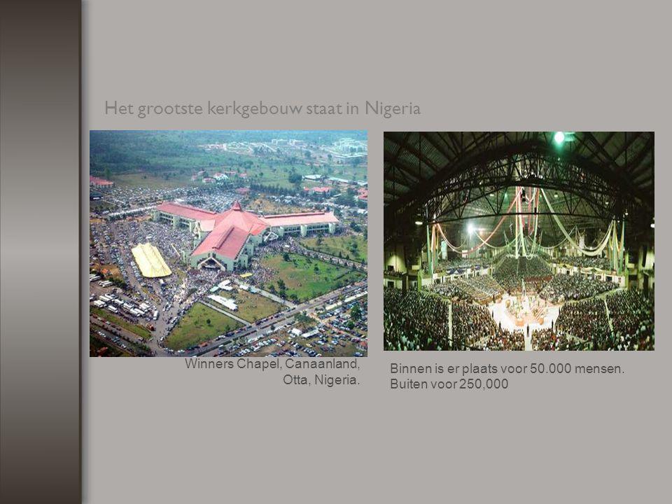 De grootste Rooms-Katholieke kerk ter wereld staat in Ivoorkust.