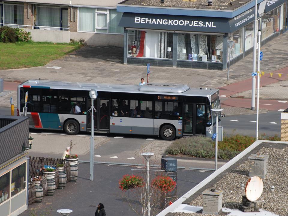 Een onpraktische bushalte op de Slinge
