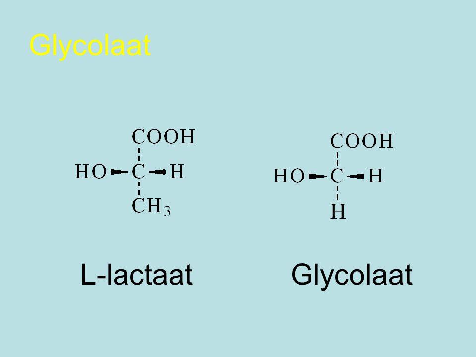 Glycolaat H L-lactaat