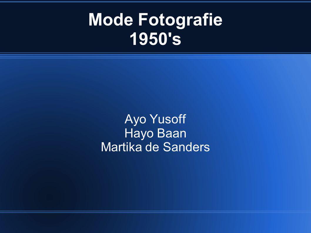 Mode Fotografie In opdracht vs.