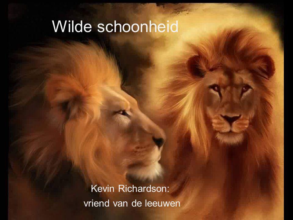 Wilde schoonheid Kevin Richardson: vriend van de leeuwen