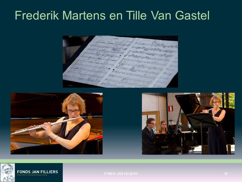 Frederik Martens en Tille Van Gastel FONDS JAN FILLIERS19