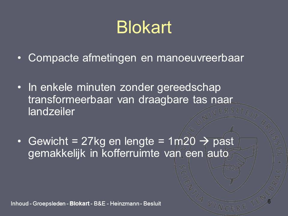 7 Blokart Op strand, op parkings, in recreatiegebieden en sinds deze winter ook op het ijs.