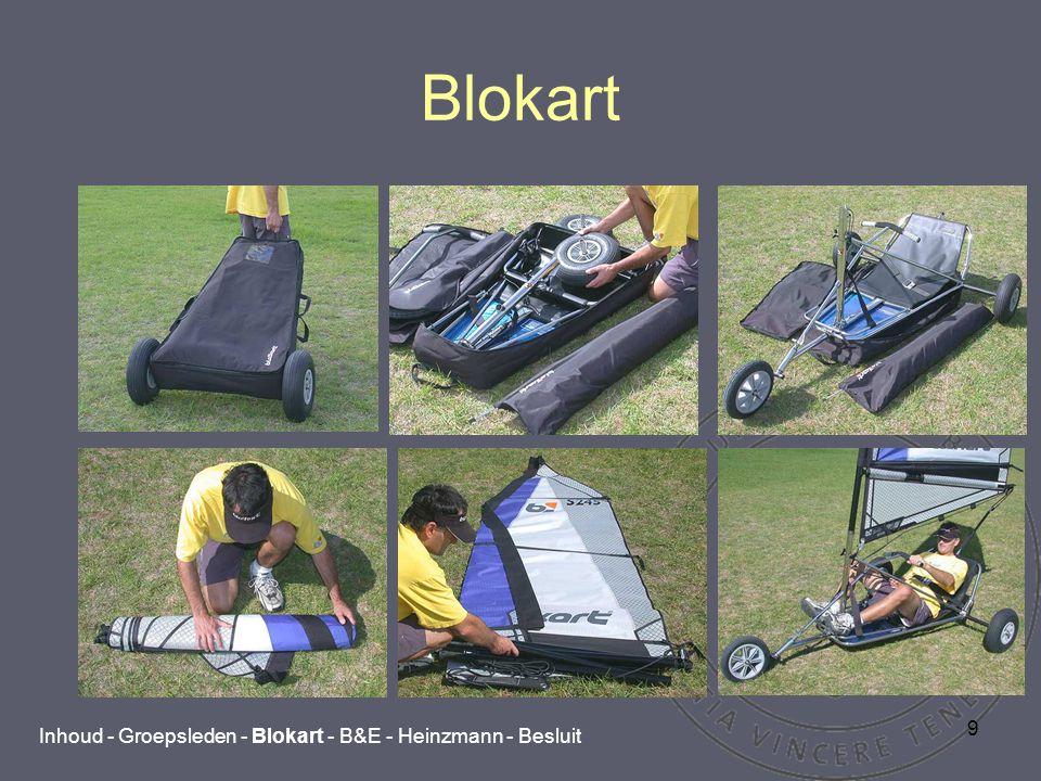 9 Blokart Inhoud - Groepsleden - Blokart - B&E - Heinzmann - Besluit