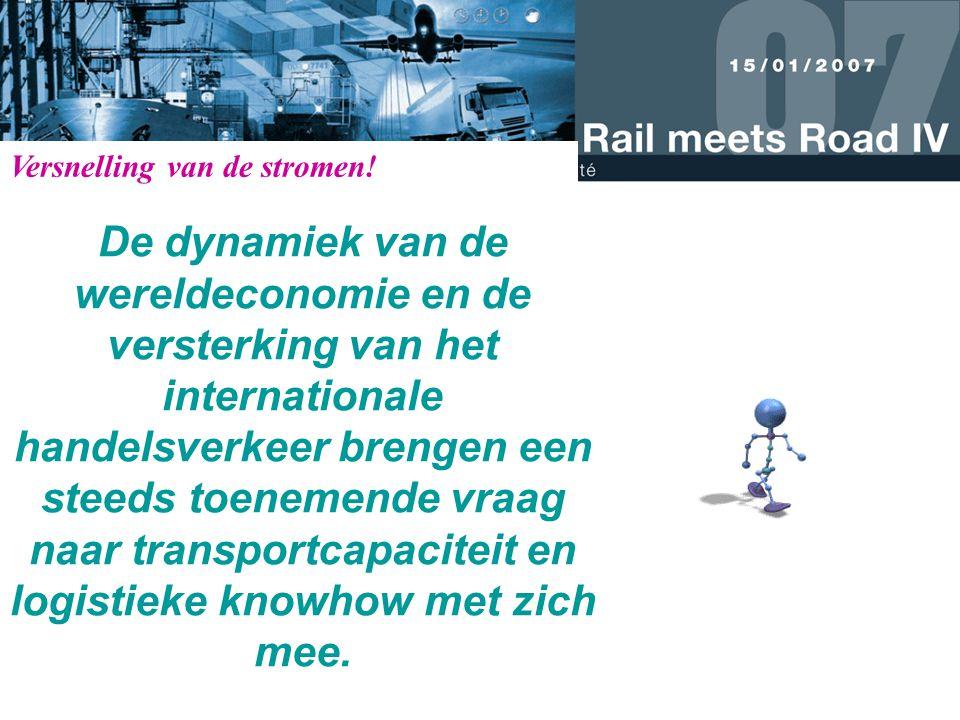 De dynamiek van de wereldeconomie en de versterking van het internationale handelsverkeer brengen een steeds toenemende vraag naar transportcapaciteit en logistieke knowhow met zich mee.