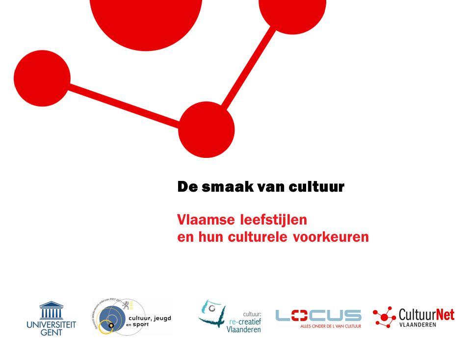 De smaak van cultuur Vlaamse leefstijlen en hun culturele voorkeuren