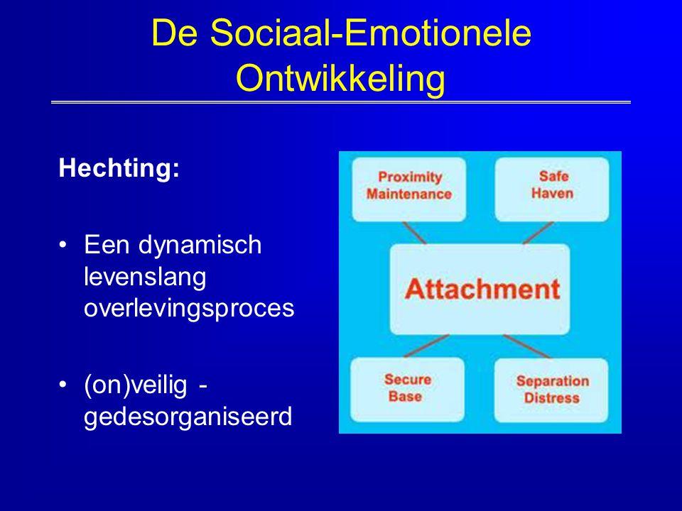 De Sociaal-Emotionele Ontwikkeling Hechting: Een dynamisch levenslang overlevingsproces (on)veilig - gedesorganiseerd