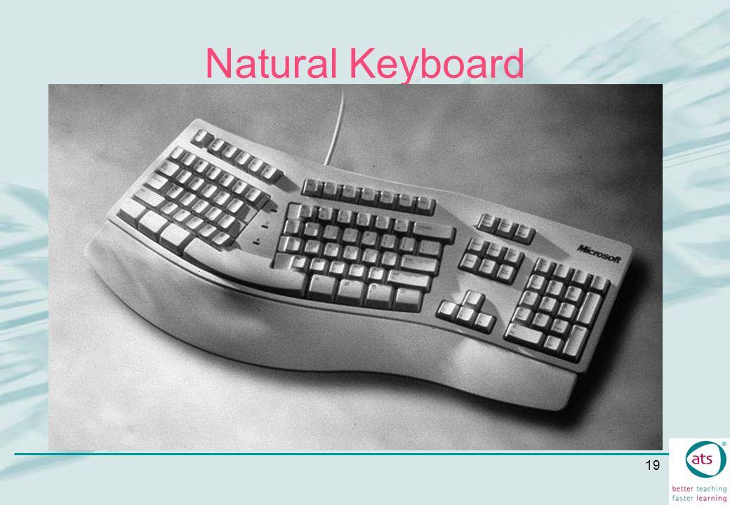 19 Natural Keyboard