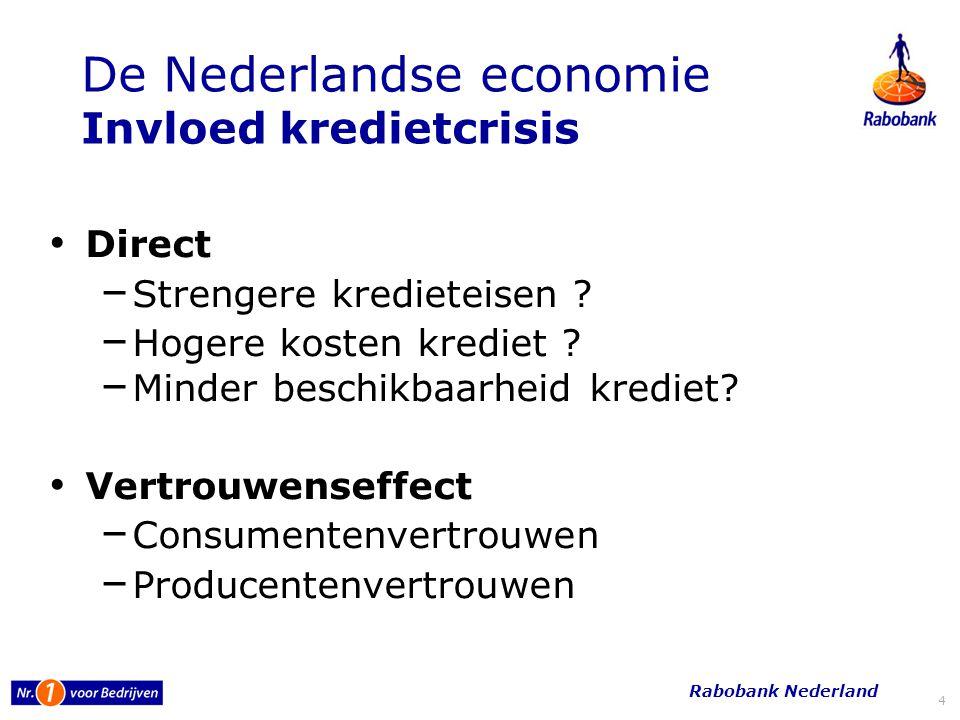 5 Ontwikkeling Sectoren 20082009 2010 Industrie 7.6-11.80 Bouw 9.9- 4.5-- Grooth.