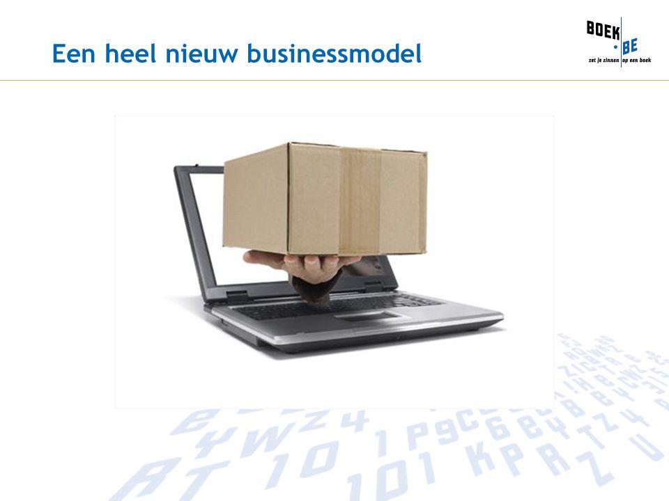 Een heel nieuw businessmodel
