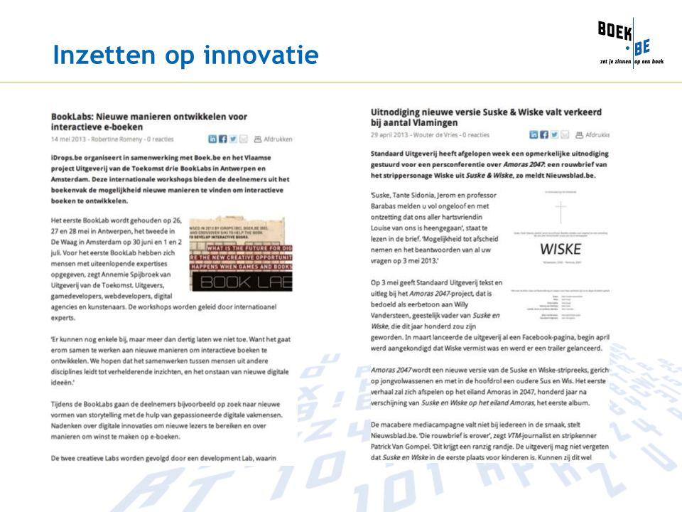 Inzetten op innovatie