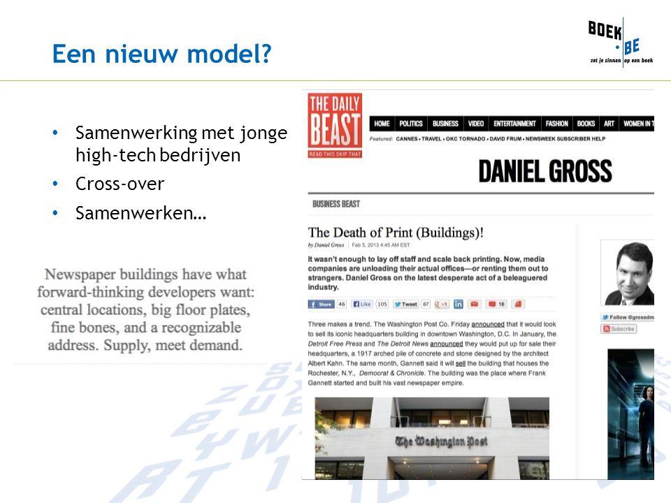 Een nieuw model? Samenwerking met jonge high-tech bedrijven Cross-over Samenwerken…