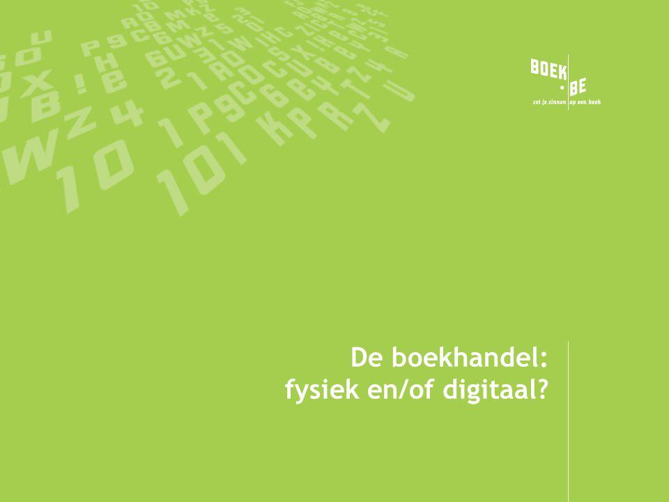 De boekhandel: fysiek en/of digitaal?