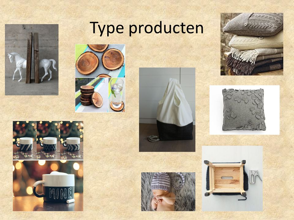 Type producten