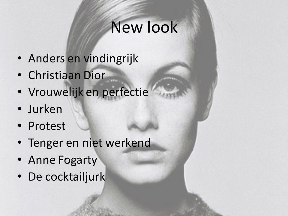 New look Anders en vindingrijk Christiaan Dior Vrouwelijk en perfectie Jurken Protest Tenger en niet werkend Anne Fogarty De cocktailjurk