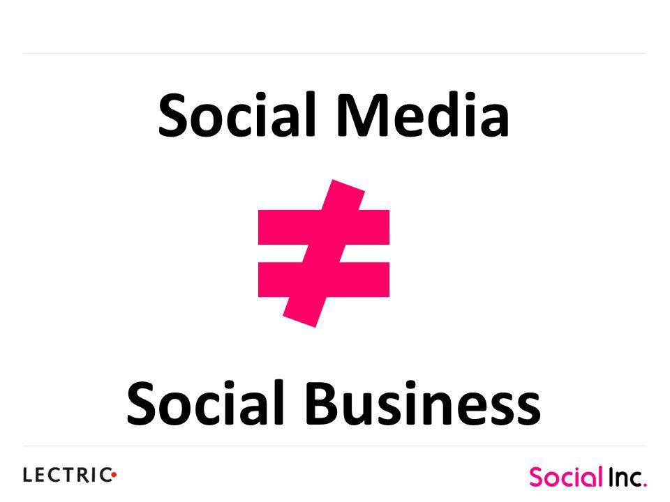 Social Media Social Business
