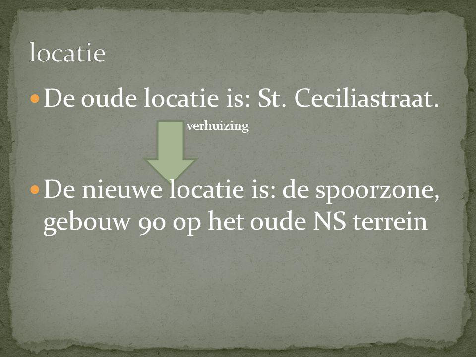 De oude locatie is: St.Ceciliastraat.