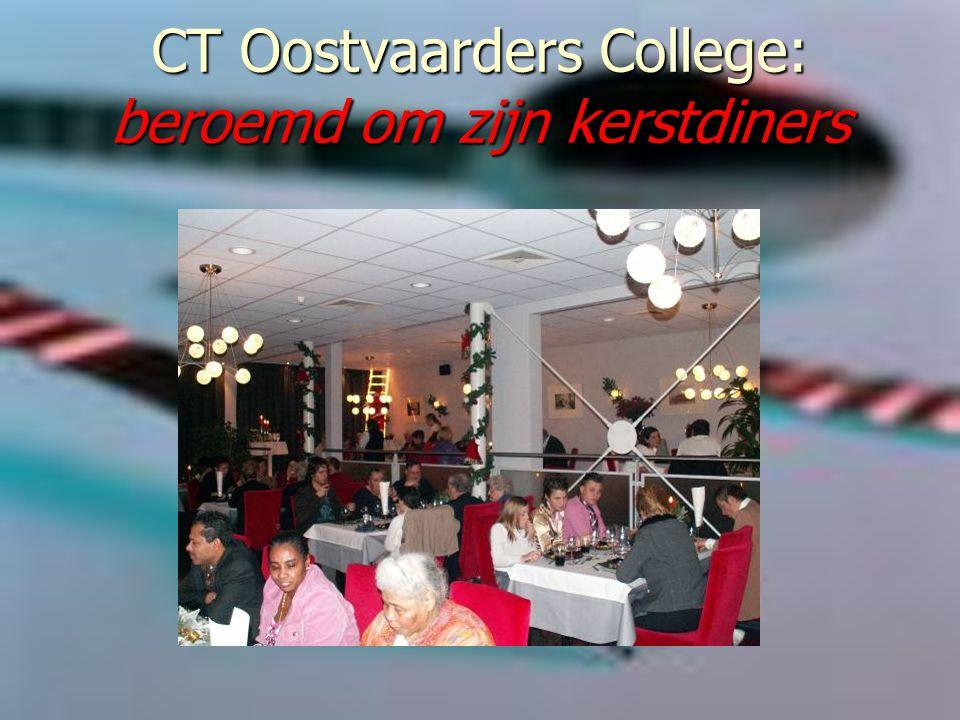CT Oostvaarders College: beroemd om zijn kerstdiners