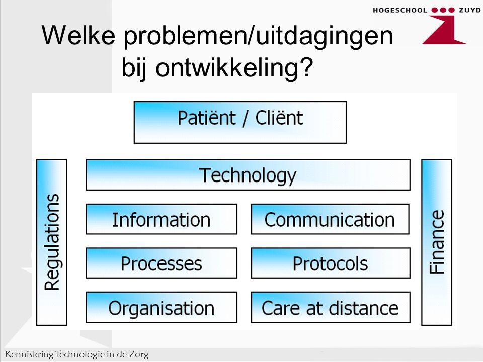Kenniskring Technologie in de Zorg Welke problemen/uitdagingen bij ontwikkeling?