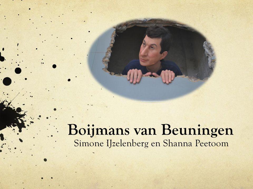 Boijmans van Beuningen Simone IJzelenberg en Shanna Peetoom