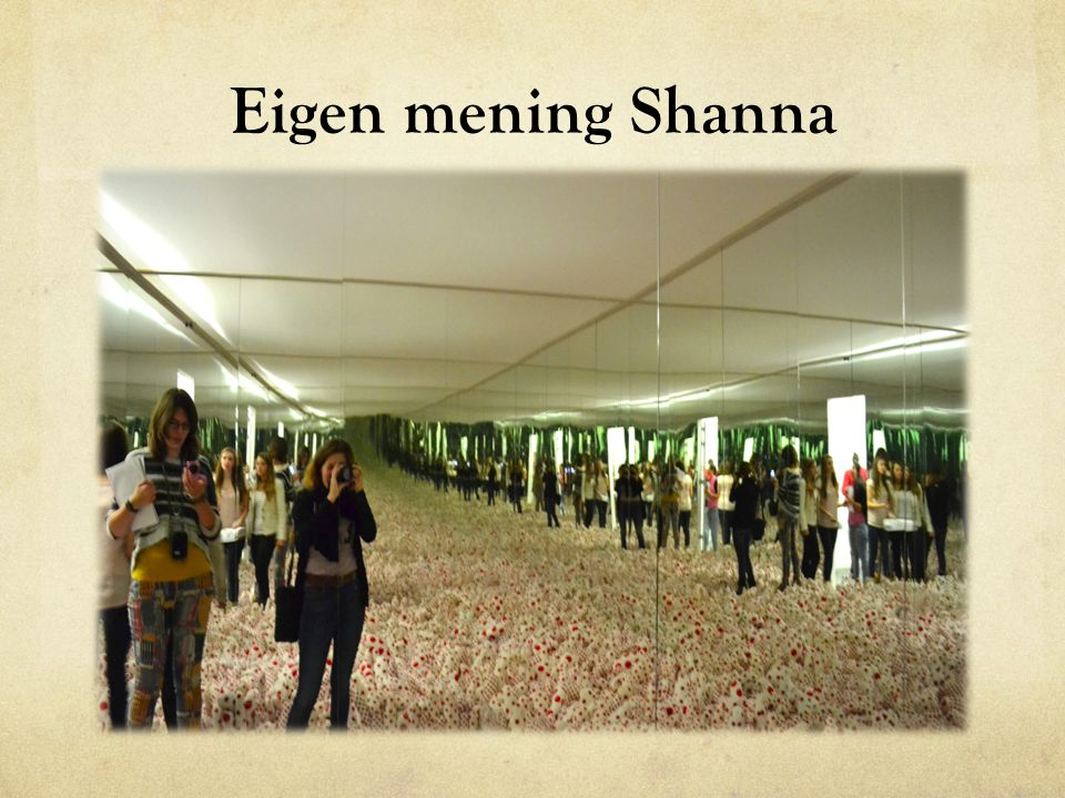 Eigen mening Shanna