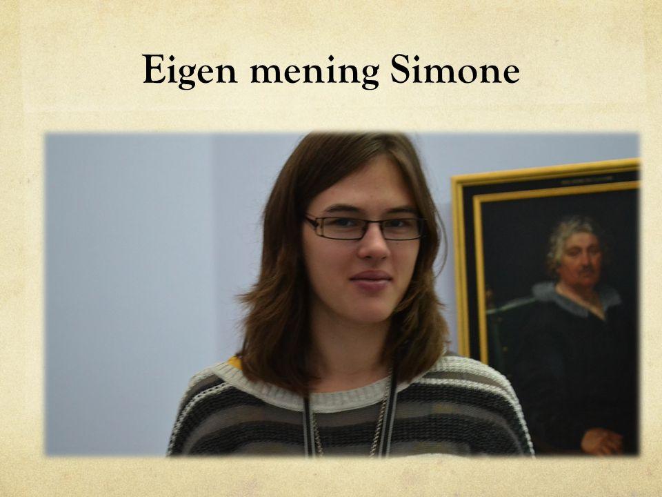 Eigen mening Simone